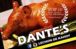 Dante's Lechon De Kahoy