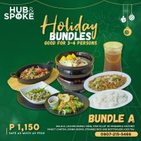 Hub & Spoke Holiday Bundles - Good for 3-4 Persons