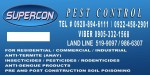 SUPERCON Pest and Termite Control Services