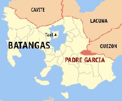Cattle Trading Capital of the Philippines Padre Garcia Map