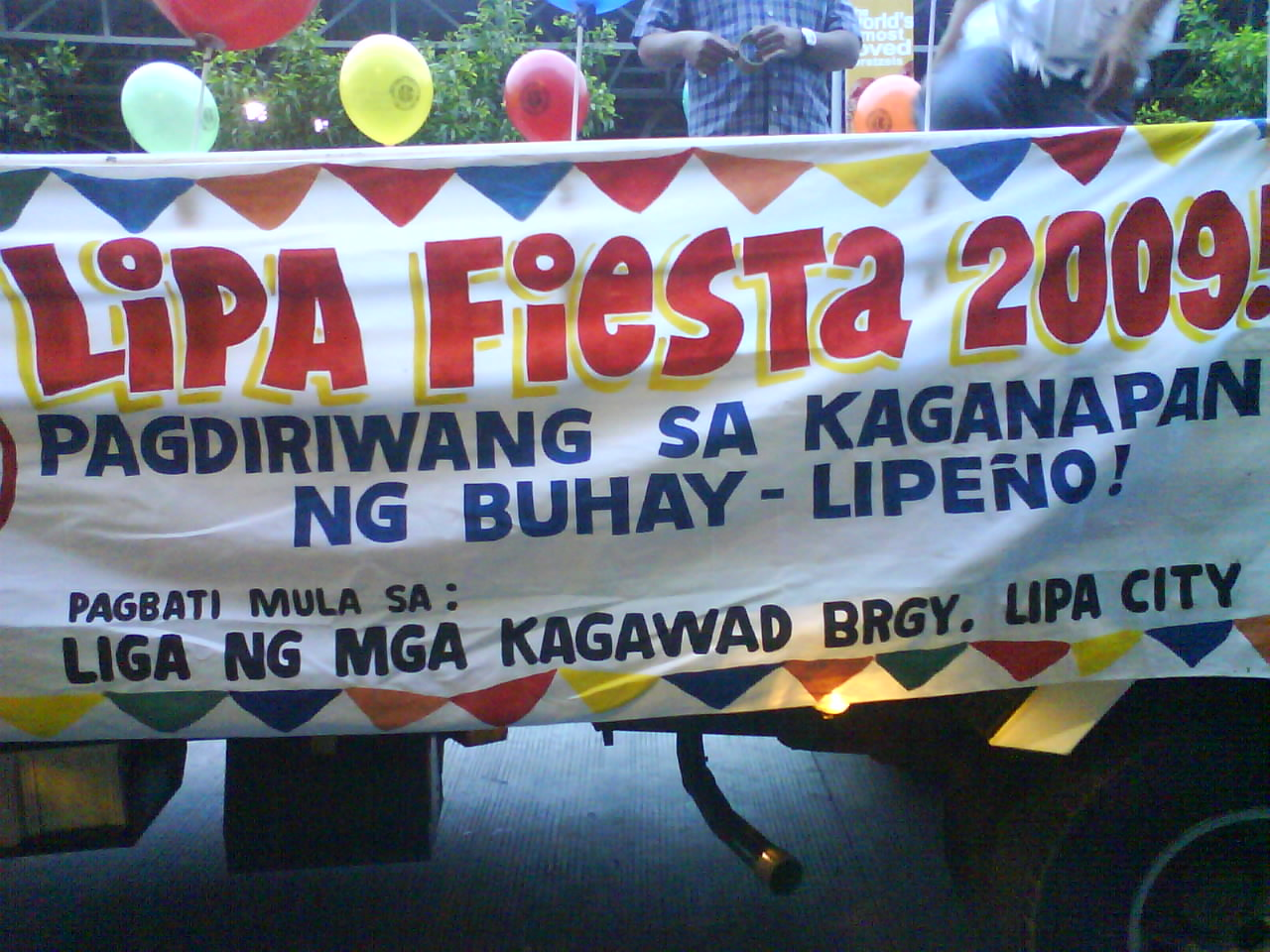 Lipa Fiesta 2009, Pagdiriwang sa Kaganapan ng Buhay- Lipeno