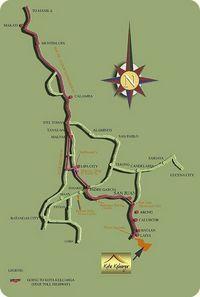 road map to laiya, san juan, batangas