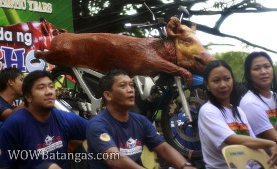 parada ng lechon and kapistahan ni san juan bautista sa Balayan, Batangas