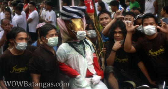 swine-flu in parada ng lechon sa balayan, batangas