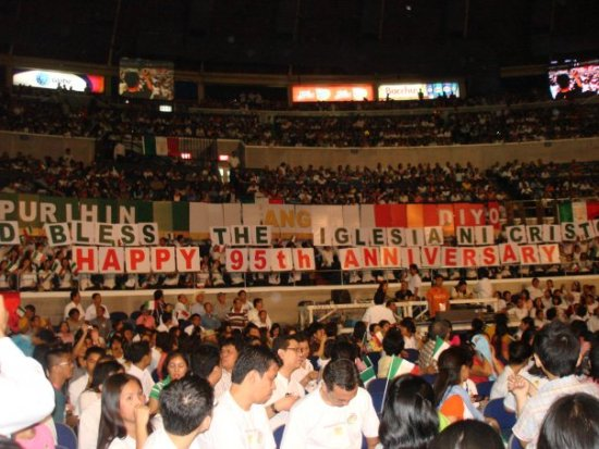 INC Anniversary at Araneta