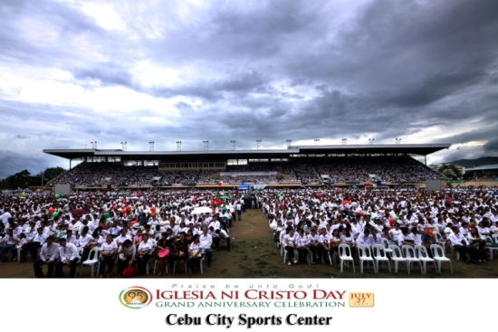 INC Anniversary at Cebu City Sports Complex