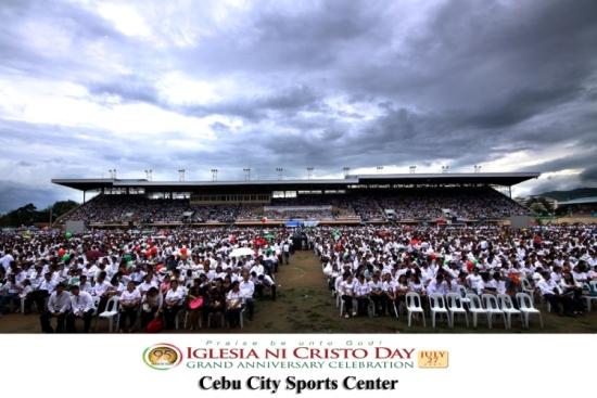 INC Anniversary at Cebu City Sports Complex