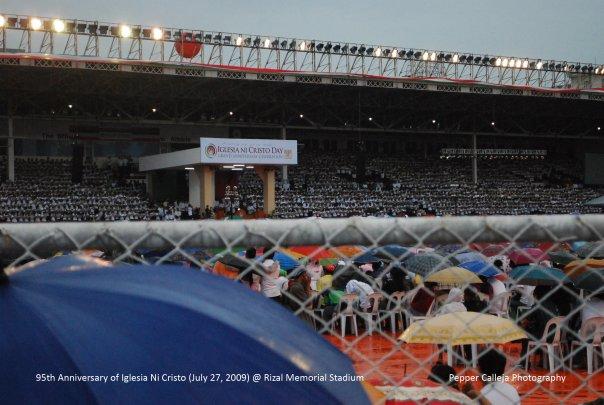 INC Anniversary at Rizal Memorial Stadium