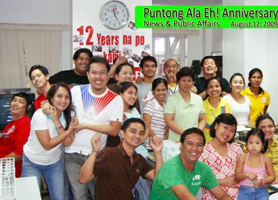 puntong ala eh celebrates 12th anniversarry