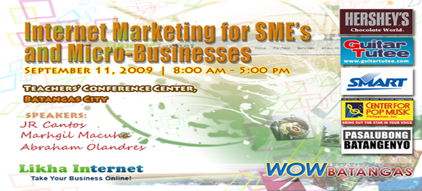 Internet Marketing Seminar Background