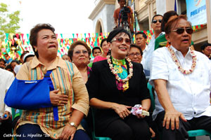 Vilma Santos Recto, Heherson Alvarez, and the guests