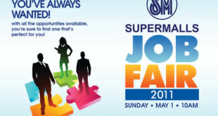 Need a Job? Join the Job Fair 2011 at SM City Lipa on May 1!