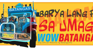 Batangas Jeepney Stickers/Signages