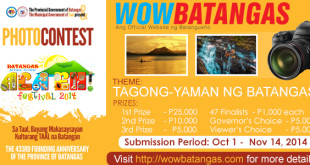 On-Site Photo Contest Mechanics – Ala Eh! Festival 2014