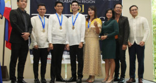Awarding of the Ten Outstanding Students of the Philippines 2017 – CALABARZON Region