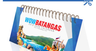 Print Your Own : WOWBatangas 2018 Desk Calendar