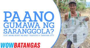 Paano gumawa ng Saranggola / Bulador?