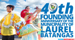 49th Founding Anniversary of the Municipality of Laurel – Schedule of Activities