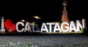 Bamboo Christmas Tree sa Calatagan, Batangas