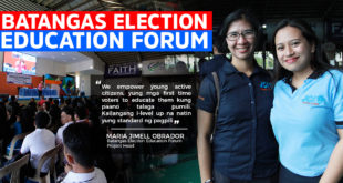 First Batangas Election Education Forum