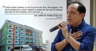 Dr. Larry of Medix Lipa and his Dream of the first Pediatric Center in Batangas