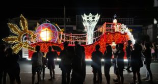 6th Festival Parade of Lights sa Tanauan City, Batangas