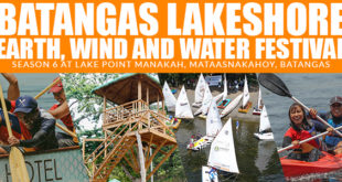 Batangas Lakeshore Earth, Wind and Water Festival Season 6