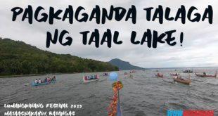 Taal Lake Fluvial Procession – Lumangkinang Festival 2019