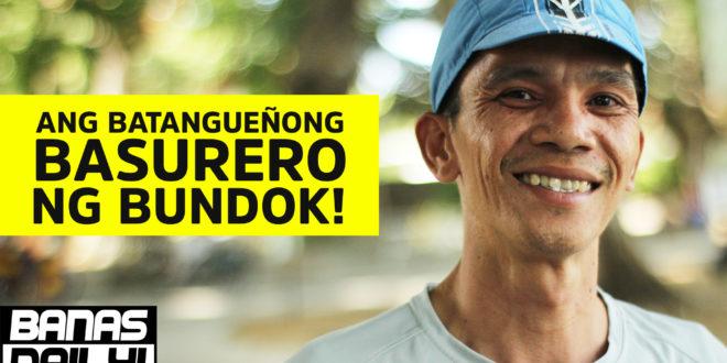 Ang Batangenyong Basurero ng Bundok | Banas Daily Ep1