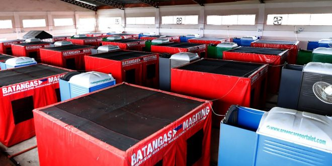 Pagpapasinaya ng Batangas Province Isolation Facility at ang Specially Designed Isolation Area for Persons Deprived of Liberty sa Brgy Malainin, Ibaan, Batangas
