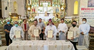 Kapistahan ng San Martin ng Tours at NHCP Turn-Over Ceremony ng Taal Basilica