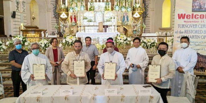 Kapistahan ng San Martin ng Tours at NHCP Turn-Over Ceremony ng Taal Basilica