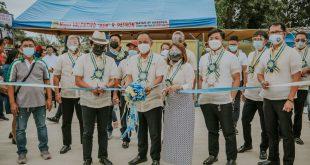 Pagpapasinaya ng mga bagong imprastraktura sa San Jose, Batangas