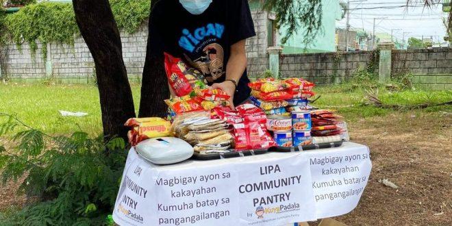Maginhawa Community Pantry inspired Community Pantry sa Probinsya ng Batangas