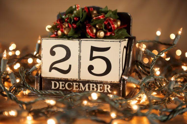 December 25, 2021 - Christmas Day