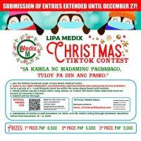 Lipa Medix Christmas TikTok Contest