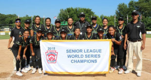 Tanauan Little League nanalo sa 2018 Senior League Softball World Series Championship
