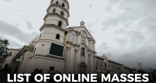 List of Online Masses in Batangas Province