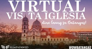 VISITA IGLESIA 2021 – Aerial Tour of Batangas Churches and Shrines